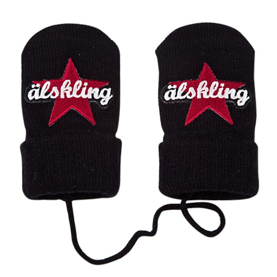 Lundmyr Of Sweden Gloves Star Älskling Black Black