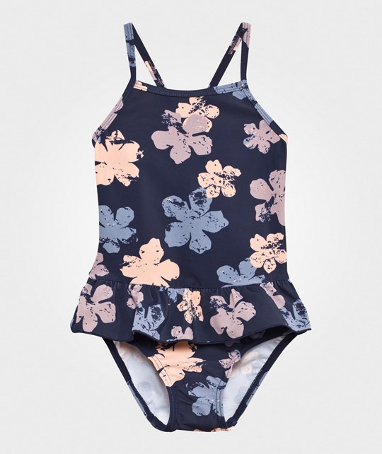 Little Pieces Lpvega Bikini Black Iris/Flower Black Iris