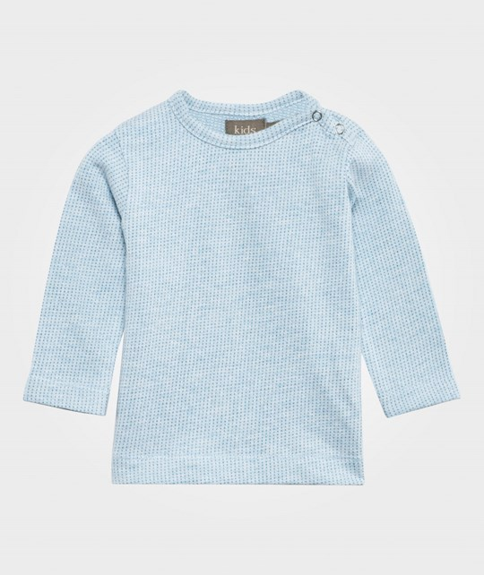 Kidscase Job Organic Newborn T-shirt Light Blue Light Blue