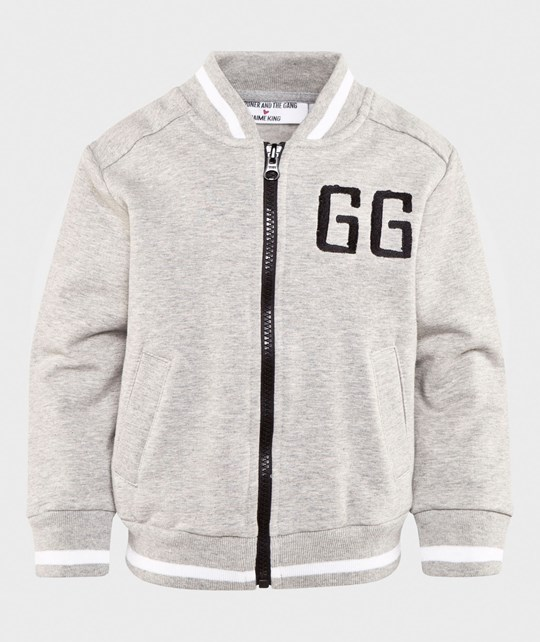 Gardner and the gang Buddy Bomber jacket ST END Heather Grey Heather Grey