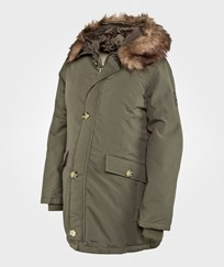 Mom2moM Parkas Romantic Dark Olive Green