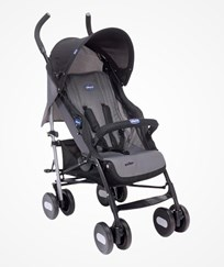 Chicco Echo Stroller with Bumper Bar in Coal COAL
