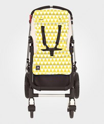 Outlook Pram Liner Triangle Yellow Gul