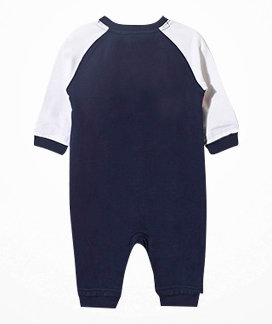 Ralph Lauren Rugby Baby One-Piece French Navy Blue