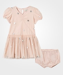 Stella McCartney Kids Missy Baby Dress Peony Twinkle