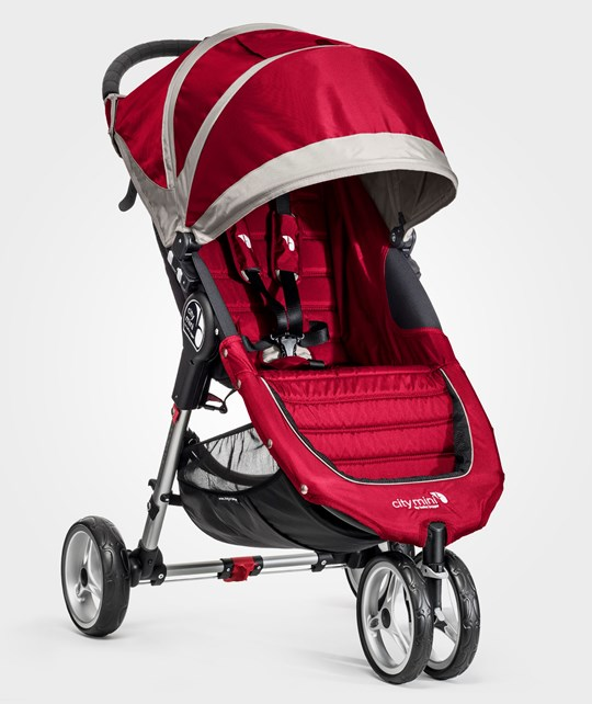 Baby Jogger City Mini Red/Gray Crimson/Gray