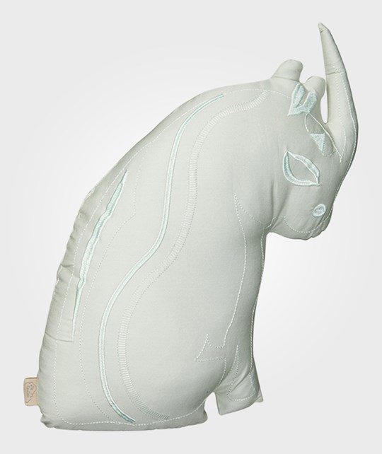 Cam Cam Rhino Cushion in Mint Mint