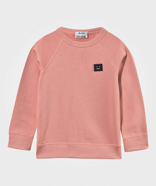 Acne Studios Mini College Sweatshirt Acne Pink Acne Pink