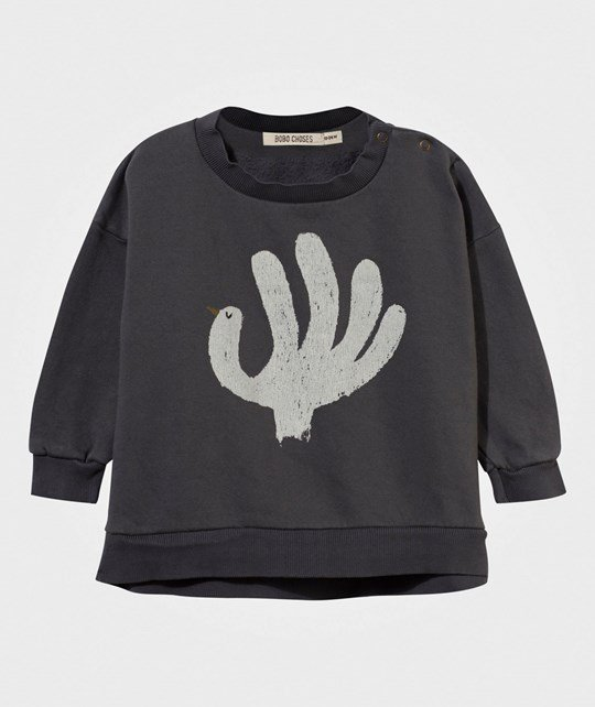 Bobo Choses Baby Sweatshirt Hand Trick Phantom