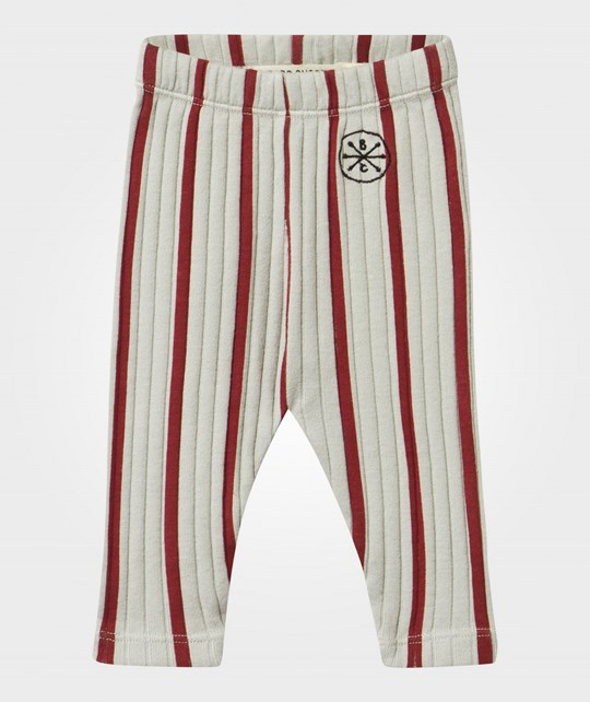 Bobo Choses Baby Leggings Red Stripes red stripes
