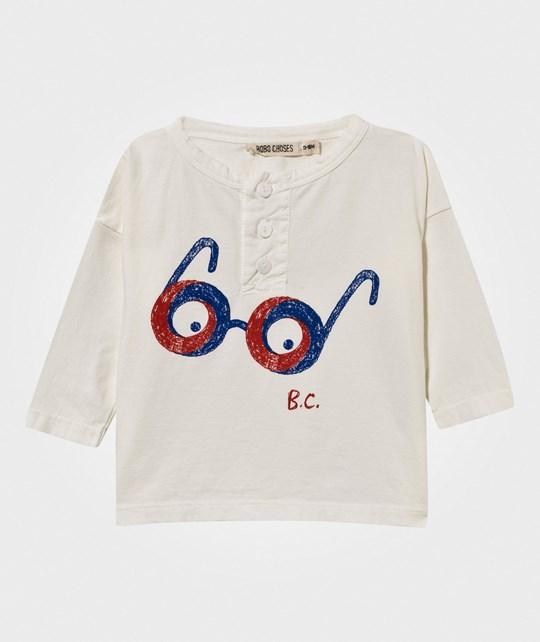 Bobo Choses Baby T-Shirt Impossible Glasses Gardenia