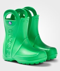 Crocs Handle It Rain Boot Kids Grass Green Green