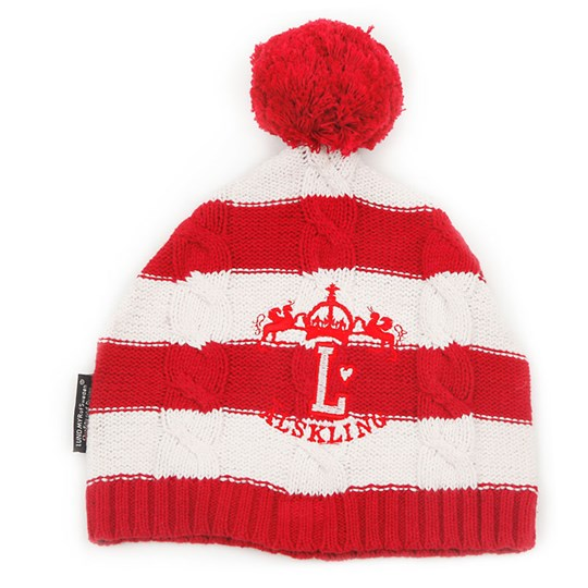 Lundmyr Of Sweden Knitted Hat Red/White Red
