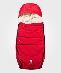 EasyWalker June Universal Footmuff Red Rød