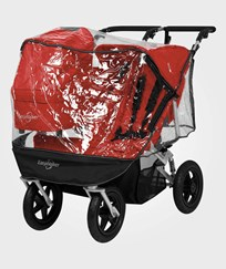 EasyWalker Universal Raincover Double for Sport Stroller Black