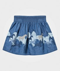 Stella McCartney Kids Helga Horses Patch Kjol Night Sky Night Sky