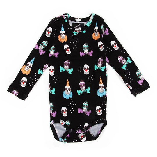 Mini Rodini L/S Body Black Black