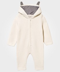 Stella McCartney Kids Acorn Knit Onesie Cloud Cloud