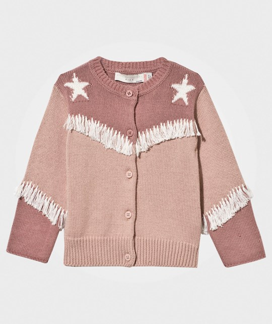 Stella McCartney Kids Lennie Baby Knit Cardigan Peony Peony