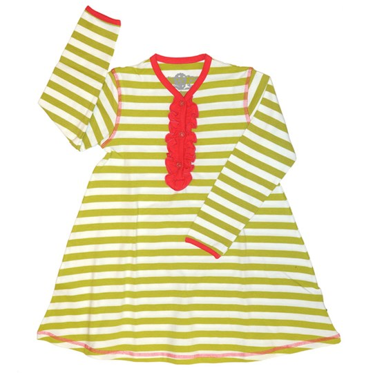 Plastisock Dress Ruffles Kids Oasis Green Green