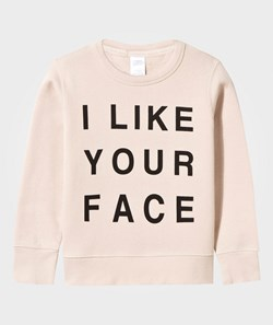 Tinycottons I Like Your Face Pusero Beige