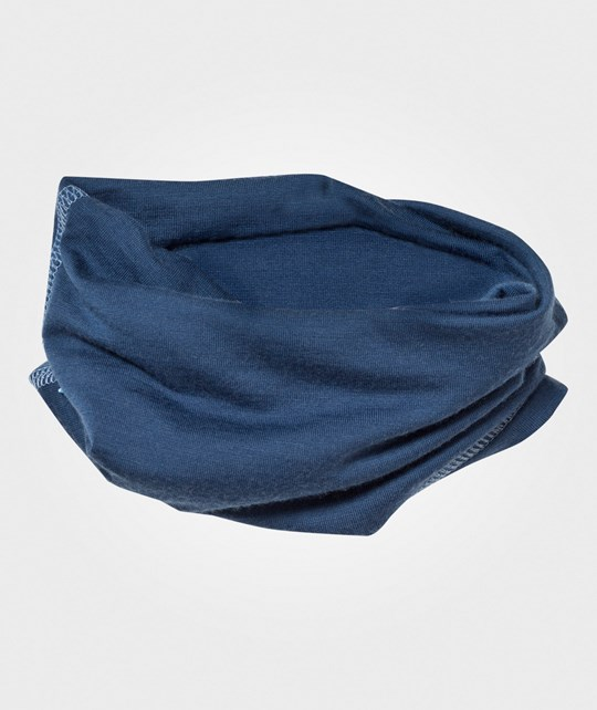 Joha Neck Warmer Solid Blue Solid Blue