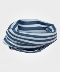 Joha Striped Neck Warmer Blue Stripe Blue
