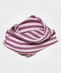 Joha Striped Neck Warmer Pink Stripe Pink