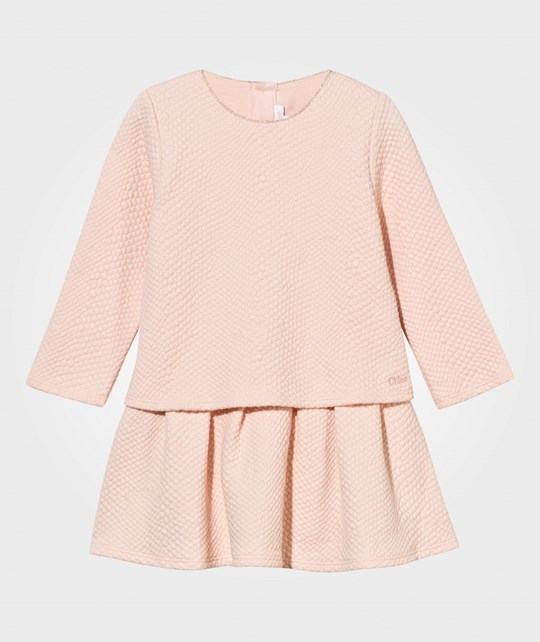 Chloé Baby Dress Rose Pale Rose Pale
