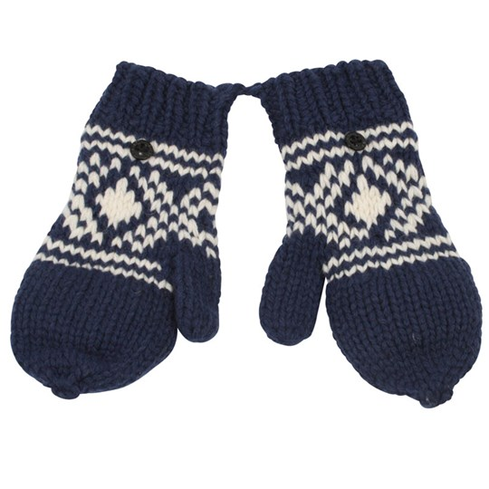 Scotch & Soda Mittens Knitted Blue Blue