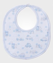 Kissy Kissy Polka Dot Transport Haklapp Vit/Ljusblå White/Light Blue