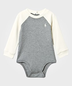 Ralph Lauren Color Block Baby Body Classic Grey Heather