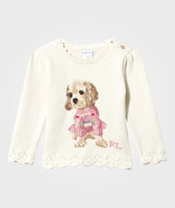 Ralph Lauren Dog Combed Cotton Sweater