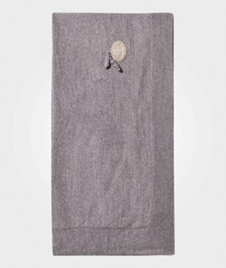Lillelam Heart Blanket Light Grey