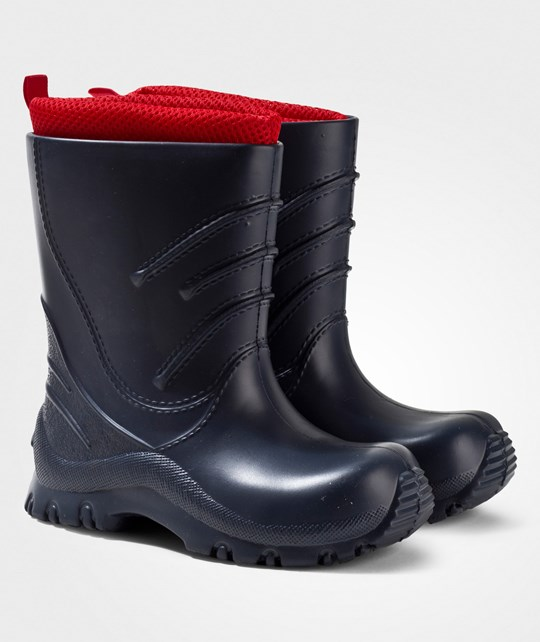 Reima Frillo Rubber Boots Navy Marinblå