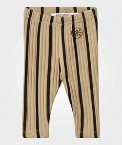 Bobo Choses Baby Leggings Black Stripes