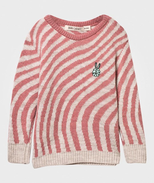 Bobo Choses Hypnotized Baby Sweater Shell