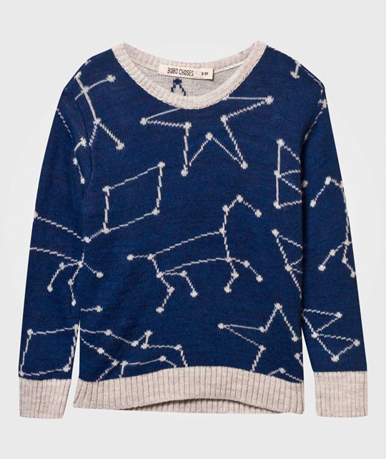 Bobo Choses Constellation Sweater Black Iris
