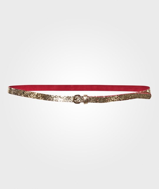 Bobo Choses Golden Glitter Belt Golden