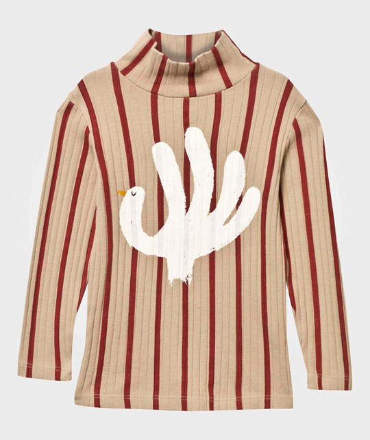 Bobo Choses Hand Trick Turtle Neck Antelope