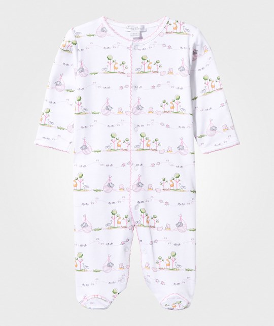 Kissy Kissy Noah´s Print Footed Baby Body Pink Pink