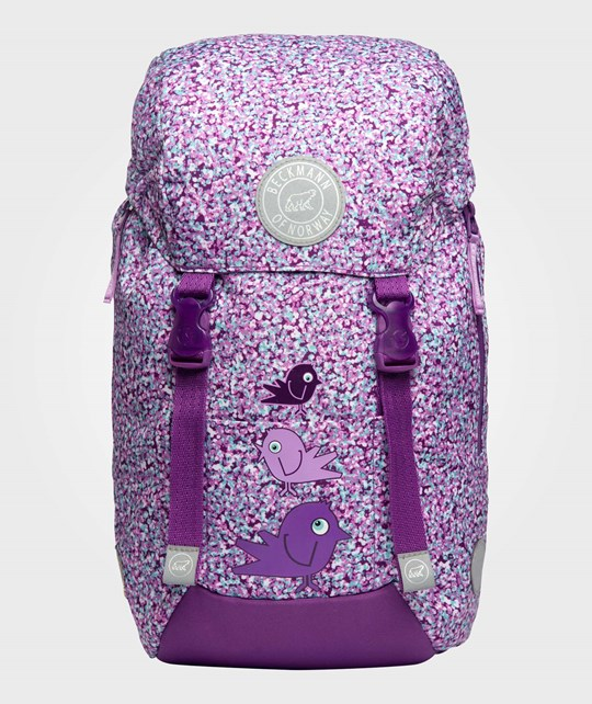 Beckmann Lerke Backpacks 12 l Purple Lilla