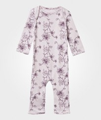 Noa Noa Miniature Printed Baby One-Piece Orchid Ice Orchid Ice