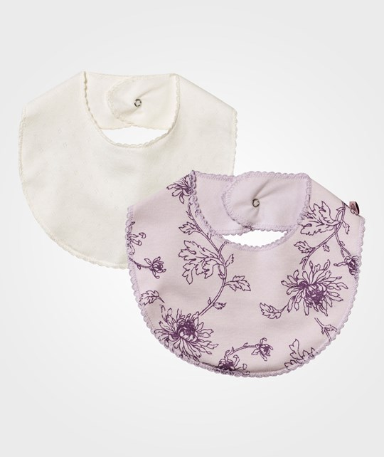 Noa Noa Miniature 2-pack Baby Bib Orchid Ice Orchid Ice