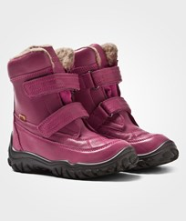 Bisgaard Tex Boots Wool lining Velcro Pink 4002 Pink