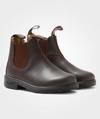 Blundstone Blunnies Brown Full Grain Leather Boots Brown