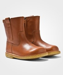 Bisgaard TEX Boot Wool Zip Cognac 502 Cognac