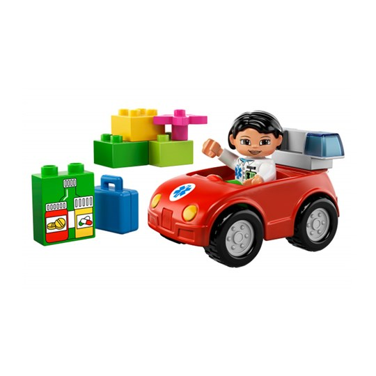 Lego Nurse's Car пестрый