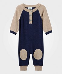 Mini A Ture Sean B Baby One-Piece Grisaille Blue Grisaille Blue