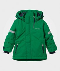 Didriksons Rovda Kid's Jacket Jello Green Jello gree